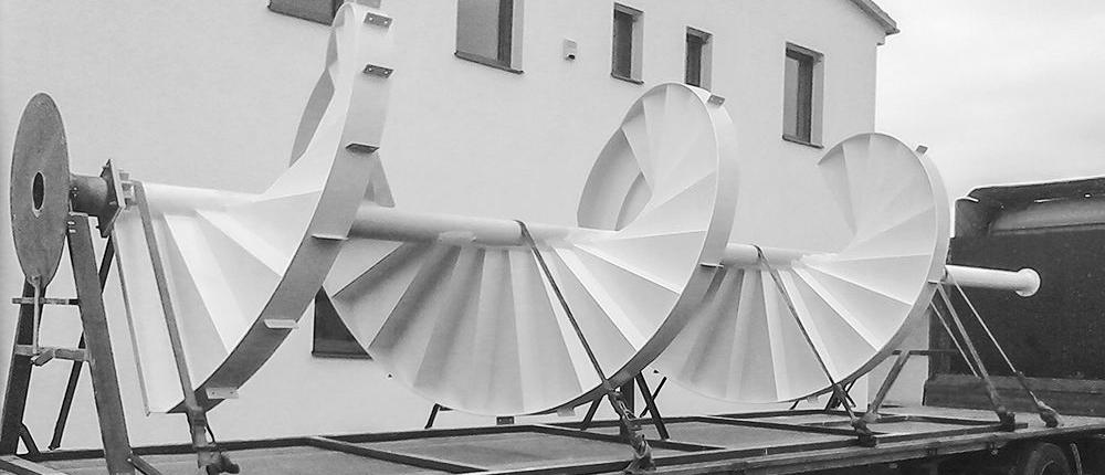 Tryskmetal - traskání kovů, úprava povrchu před aplikací nátěrových hmot