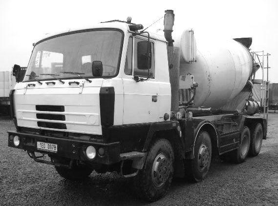 Autodoprava AVIA A 75 nosič kontejnerů, T 815 mix